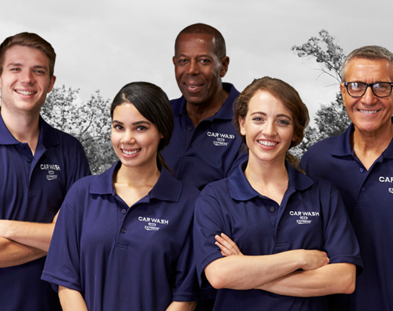 Group of Car Wash USA employees