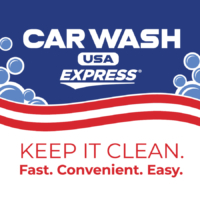 Car Wash USA Express Logo - Keep It Clean. Fast. Convenient. Easy