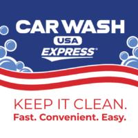 Car Wash USA Express Logo - Keep It Clean. Fast. Convenient. Easy
